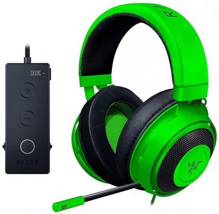 Herní sluchátka Razer Kraken Tournament, zelená