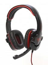 Herní sluchátka Red Fighter H1, 7.1, USB PC, QMRDM01RGR00