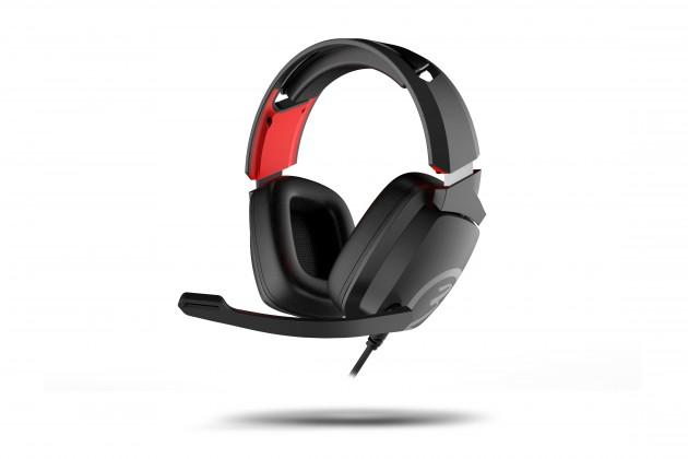Herní sluchátka Sluchátka OZONE Ekho X40, herní, pro PS4/XBOX/NS/PC, černá