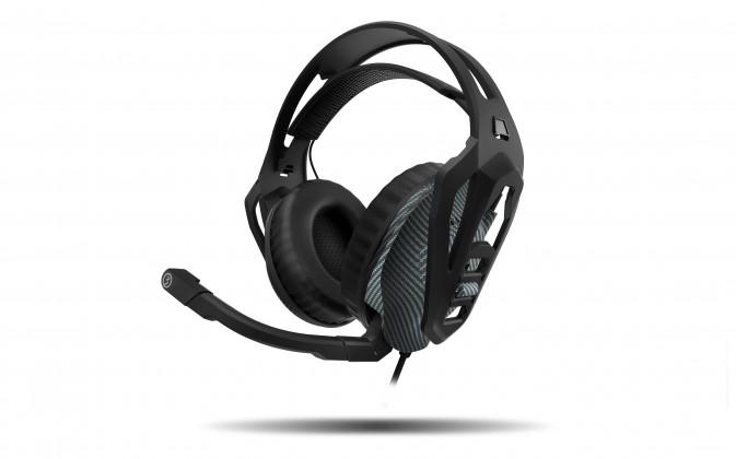 Herní sluchátka Sluchátka OZONE Nuke Pro, herní, zvuk 7.1, černá