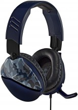 Herní sluchátka Turtle Beach RECON 70, camuflage modrá