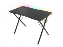 Herní stůl Genesis Holm 200 RGB s RGB podsvícením OBAL POŠKOZEN
