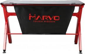 Herní stůl Marvo DE-03, 120x66 cm, podsvícený + ZDARMA podložka pod myš a hub