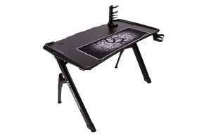 Herní stůl ULTRADESK INVADER černý UDESK-IN-BB + ZDARMA podložka pod myš a hub