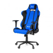 Herní židle Arozzi Torretta XL černo-modrá TORRETTA-XLF-BL