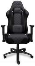 Herní židle Connect IT Monaco Pro šedá CGC-1200-GY