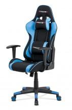 Herní židle Crash modrá