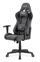 Herní židle Crash šedá