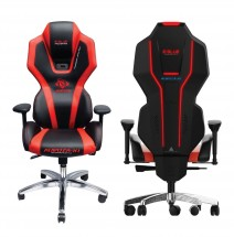 Herní židle E-Blue AUROZA, červená, podsvícená