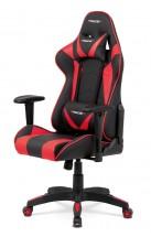 Herní židle Wiper červená