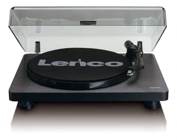 Hi-Fi gramofony Gramofon Lenco L-30 černý