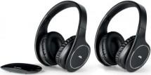 Hi-Fi sluchátka Meliconi HP Easy Digital Bundle, černá