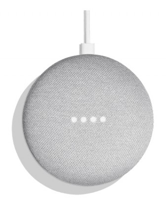 Hlasový asistent Google Home mini Chalk