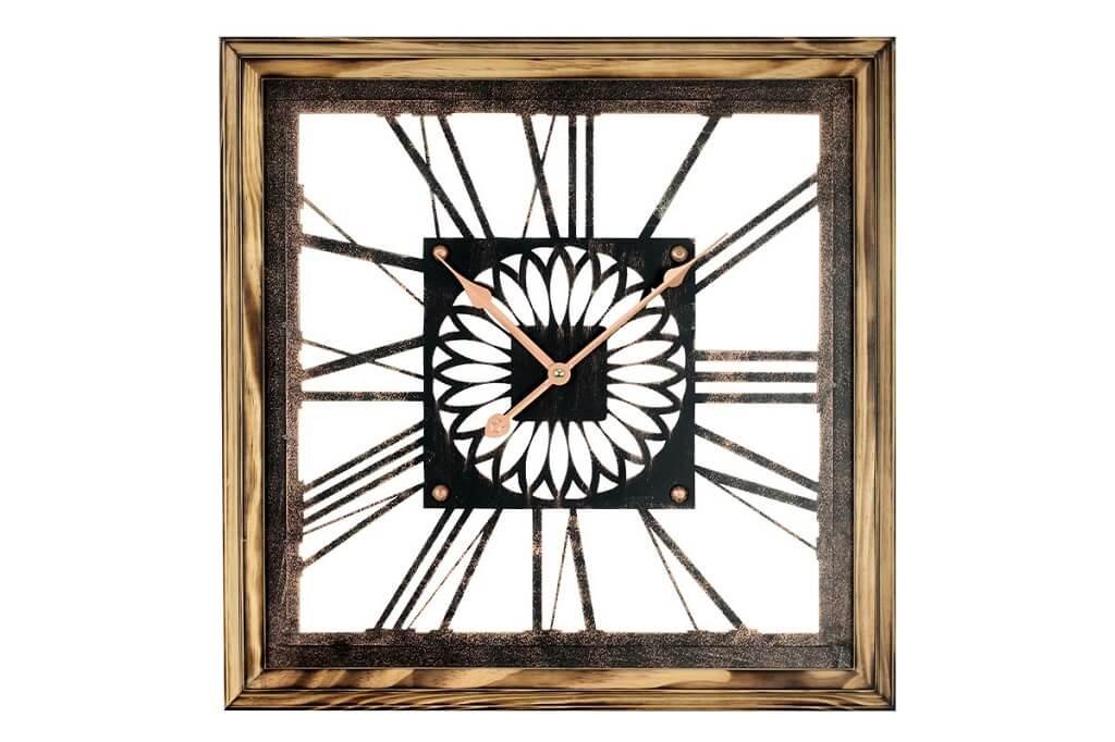 Hodiny Nástěnné hodiny - H05, dřevo, kov