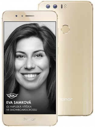 Honor 8 64GB Premium, zlatá