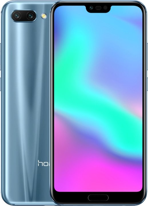 Honor Mobilní telefon HONOR 10 4GB/128GB, šedá, ROZBALENO