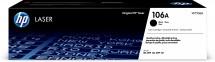 HP 106A Black Laser Toner,W1106A