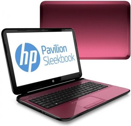 HP Pavilion Sleekbook 15-b025ec červená (C5R51EA#BCM)
