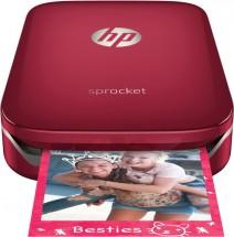 HP Sprocket Photo Printer, červená Z3Z93A + Dárek kniha