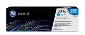 HP tisková kazeta CC531A, azurová