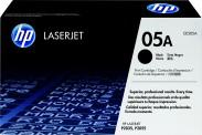 HP tisková kazeta CE505A, černá
