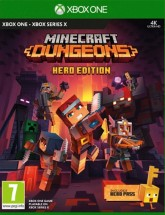 Hra na XBOX One - Minecraft Dungeons Hero Edition