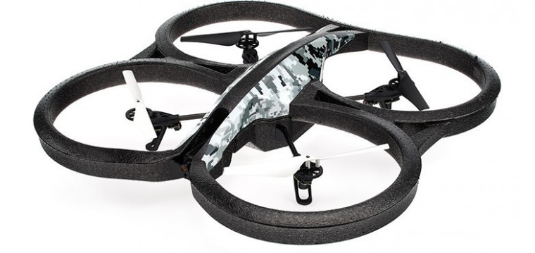 Hračky a gadgety Parrot AR.Drone 2.0 Elite Edition Snow