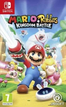 Hry na Nintendo Switch SWITCH Mario + Rabbids Kingdom Battle (NSS4342)