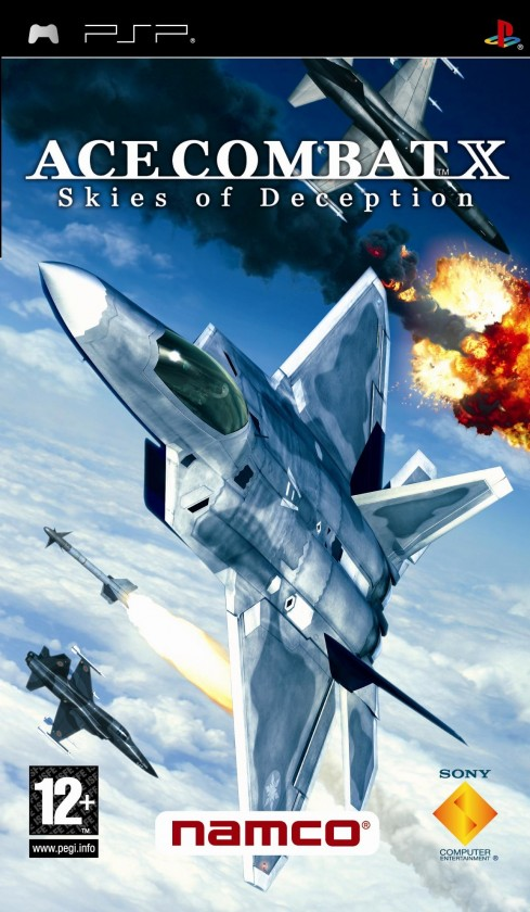 Hry na Playstation Ace Combat X:Skies of Decept (PSP), PS719101482