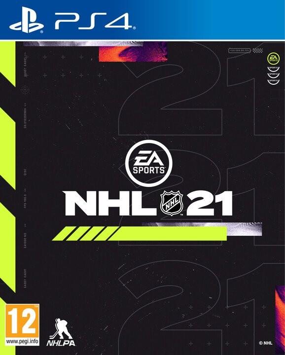 Hry na Playstation NHL 21 (5030936122984)