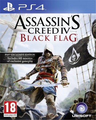 Hry na Playstation PS4 hra - Assassin's Creed: Black Flag