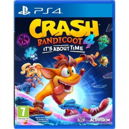 Hry na Playstation PS4 hra - Crash Bandicoot 4 It´s about time