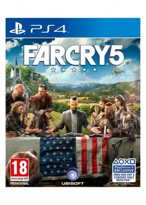 Hry na Playstation PS4 hra - Far Cry 5