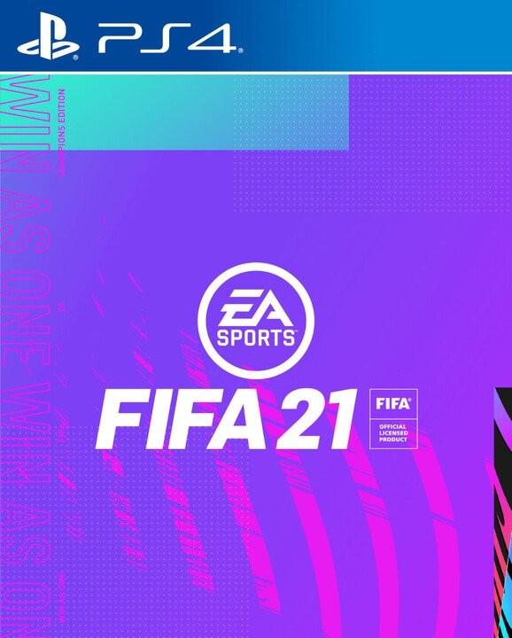 Hry na Playstation PS4 hra - FIFA 21 Champions Edition