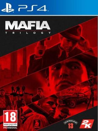 Hry na Playstation PS4 hra - Mafia Trilogy