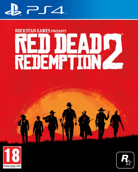 Hry na Playstation PS4 hra - Red Dead Redemption 2