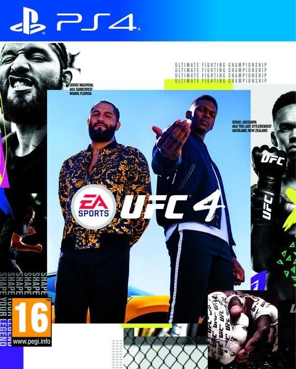 Hry na Playstation PS4 hra - UFC 4
