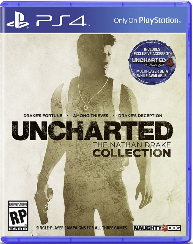 Hry na Playstation PS4 - Uncharted : The Nathan Drake Collection CZ
