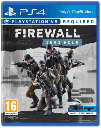Hry na Playstation SONY PS4 hra Firewall: ZERO HOUR VR