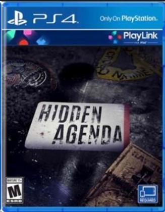 Hry na Playstation SONY PS4 hra Hidden Agenda