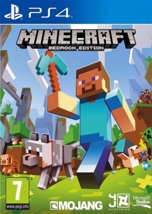 Hry na Playstation Sony PS4 hra Minecraft Bedrock