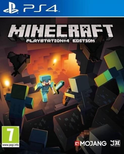Hry na Playstation SONY PS4 hra Minecraft