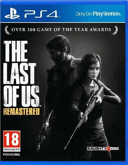 Hry na Playstation SONY PS4 hra The Last of Us (Remastered)