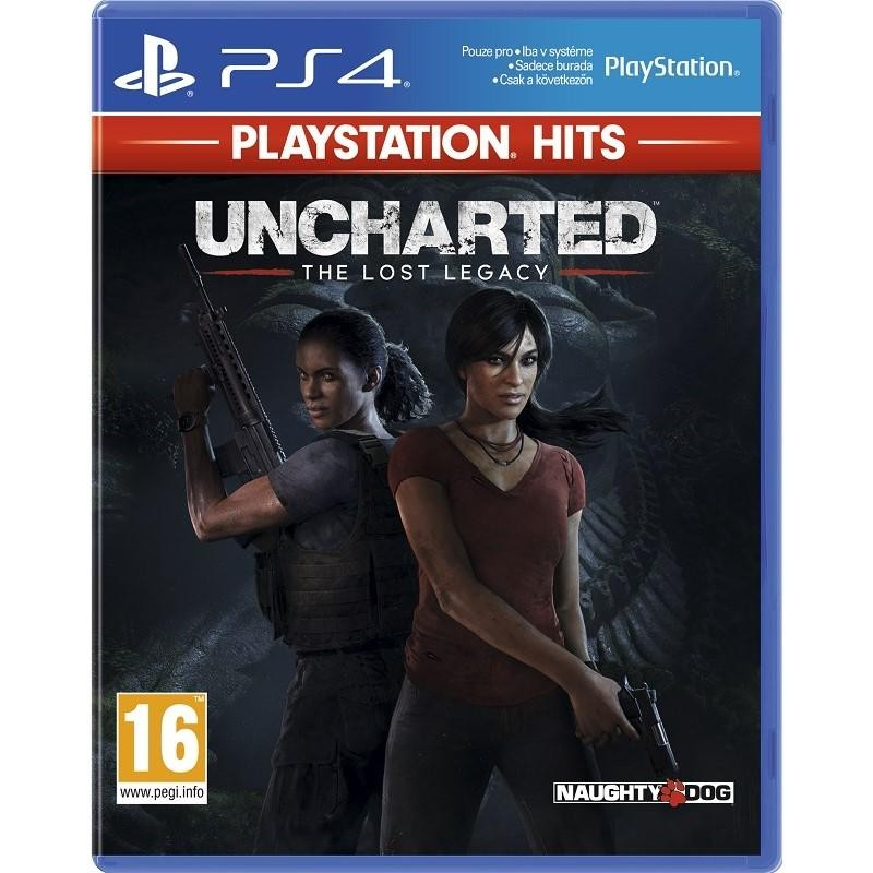 Hry na Playstation Sony PS4 hra Uncharted The Lost Legacy