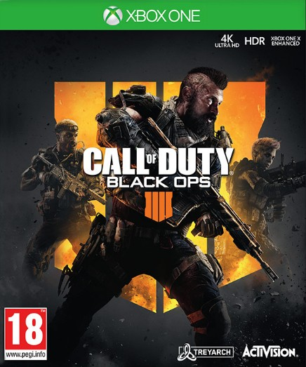 Hry na XBOX Call of Duty: Black Ops 4 (5030917238932)