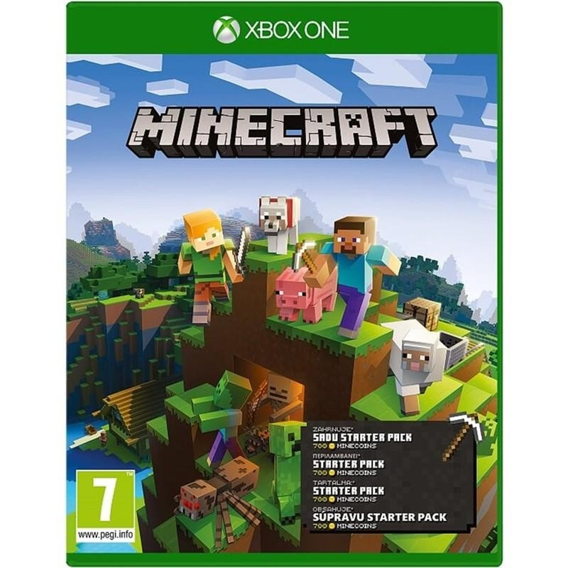 Hry na XBOX Hra Microsoft XBOX ONE - Minecraft Starter Collection