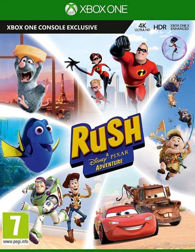 Hry na XBOX Hra Microsoft Xbox One Rush: A Disney Pixar Adventure GYN-00020