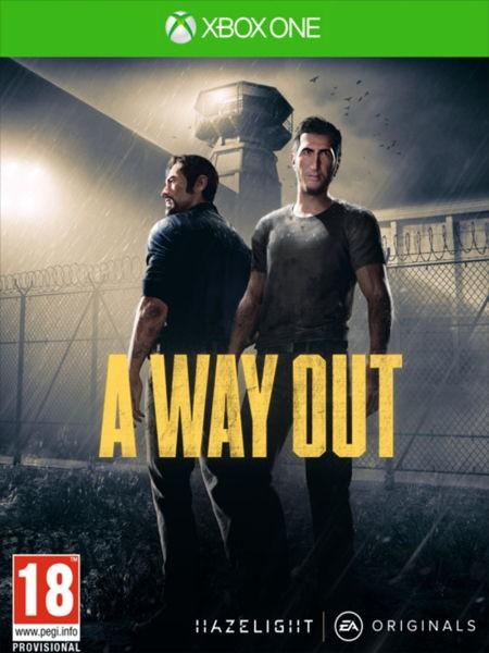 Hry na XBOX Hra pro konzoli A Way Out - Xbox One 5030937122761