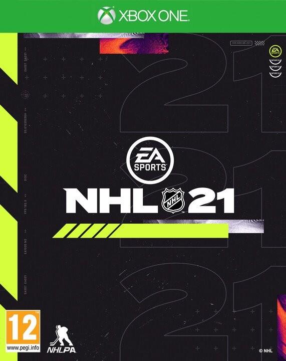 Hry na XBOX NHL 21 (5030944122983)