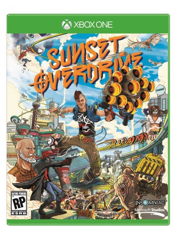Hry na XBOX Sunset Overdrive